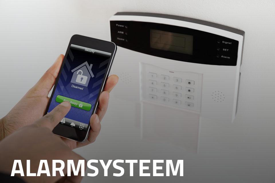 Alarmsysteem met applicatie